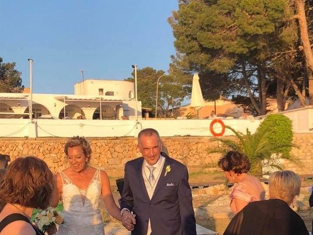 La boda de Ángel y Maribel en Bahia Grande, Islas Baleares 1