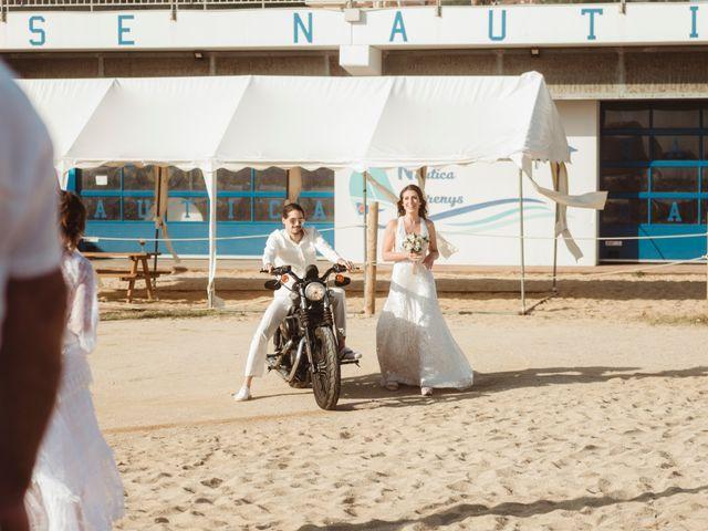 La boda de Oscar y Andrea en Arenys De Mar, Barcelona 87