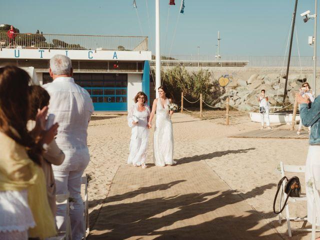 La boda de Oscar y Andrea en Arenys De Mar, Barcelona 88