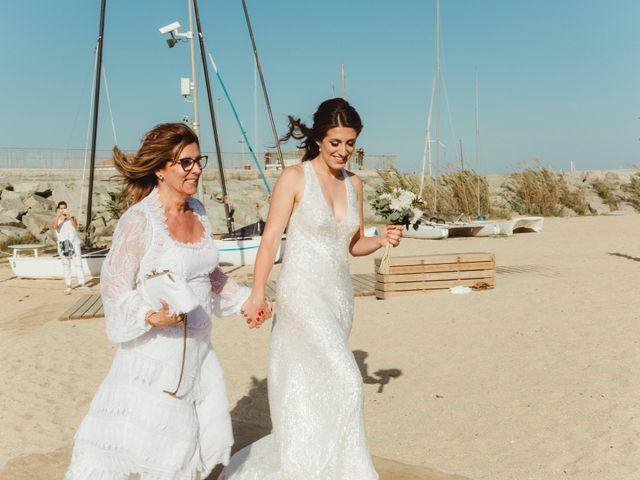 La boda de Oscar y Andrea en Arenys De Mar, Barcelona 89