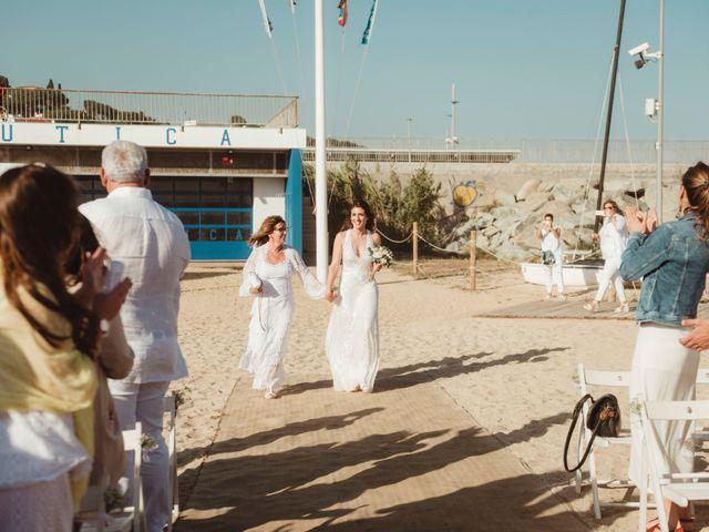 La boda de Oscar y Andrea en Arenys De Mar, Barcelona 90