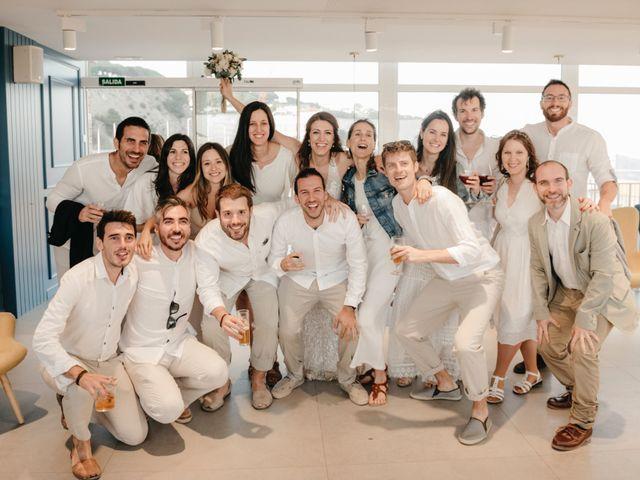 La boda de Oscar y Andrea en Arenys De Mar, Barcelona 148