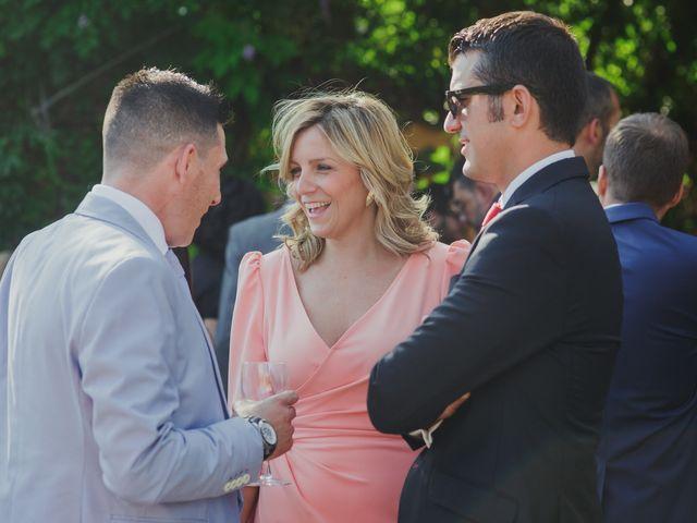 La boda de Luis y Elisa en Torremocha Del Jarama, Madrid 45