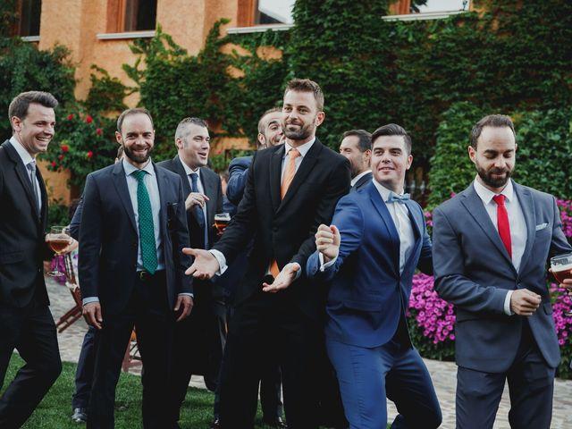 La boda de Luis y Elisa en Torremocha Del Jarama, Madrid 78