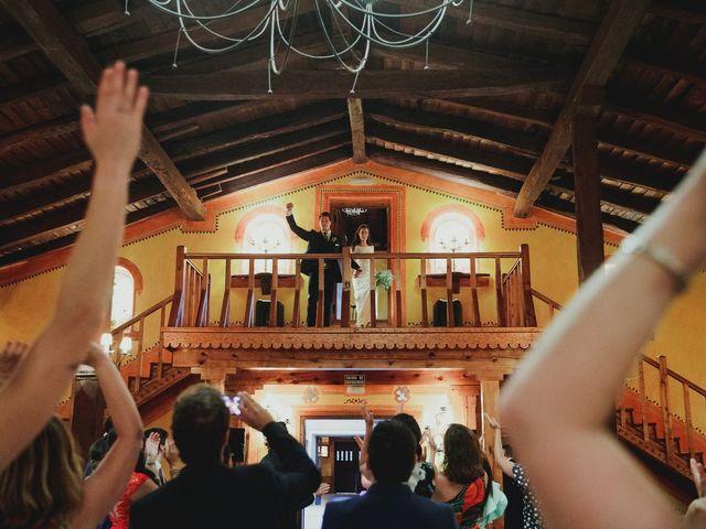 La boda de Luis y Elisa en Torremocha Del Jarama, Madrid 88