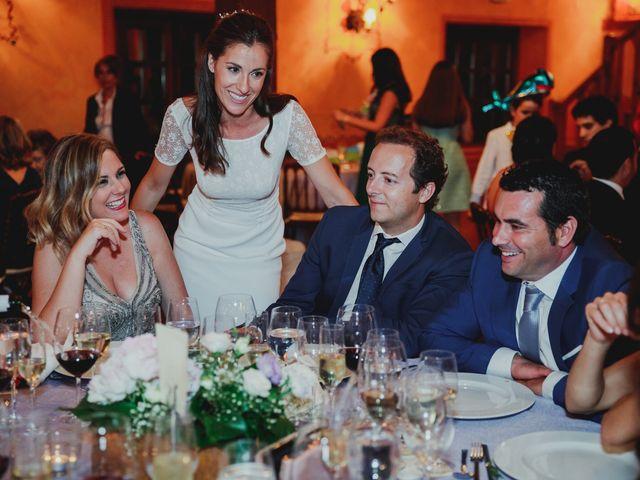 La boda de Luis y Elisa en Torremocha Del Jarama, Madrid 91