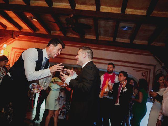 La boda de Luis y Elisa en Torremocha Del Jarama, Madrid 125