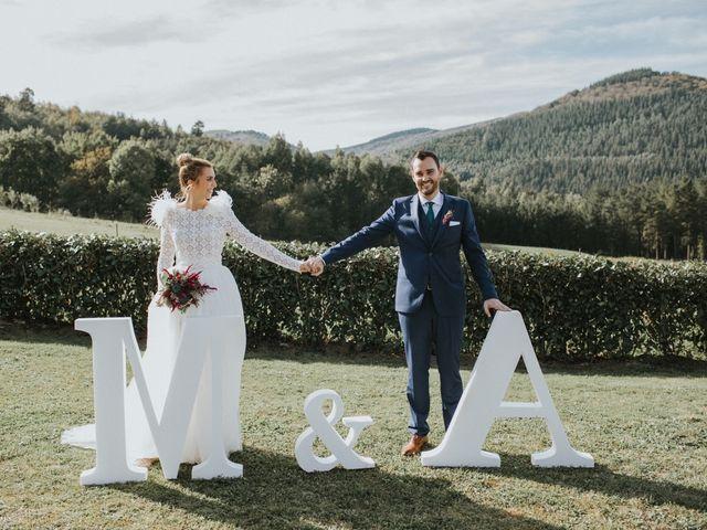 La boda de Alvaro y Miren en Orozco, Vizcaya 32