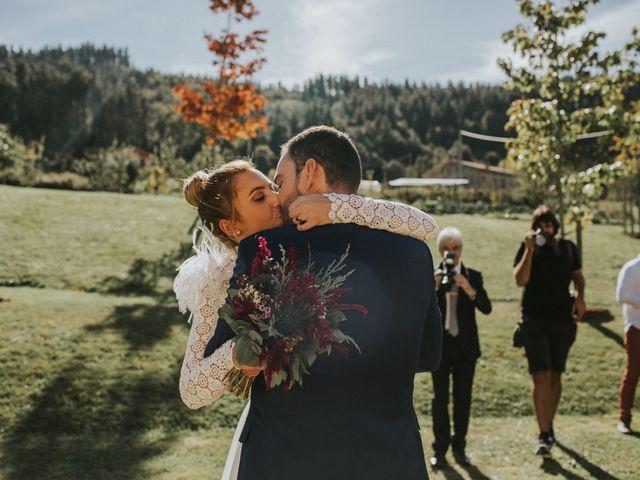 La boda de Alvaro y Miren en Orozco, Vizcaya 40