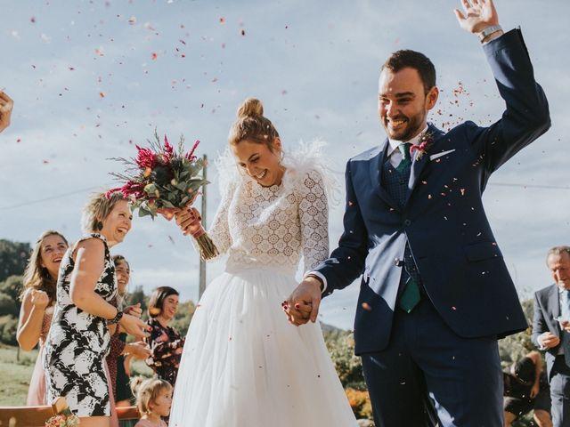 La boda de Alvaro y Miren en Orozco, Vizcaya 41