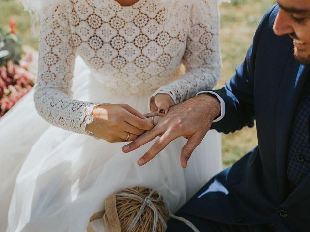 La boda de Alvaro y Miren en Orozco, Vizcaya 45