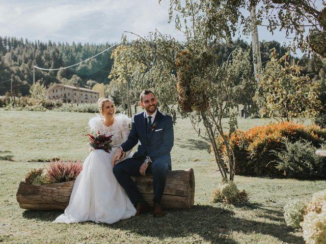 La boda de Alvaro y Miren en Orozco, Vizcaya 53
