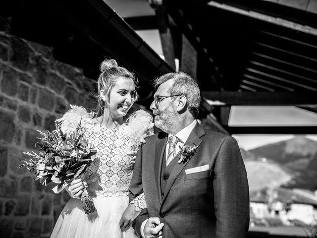 La boda de Alvaro y Miren en Orozco, Vizcaya 59