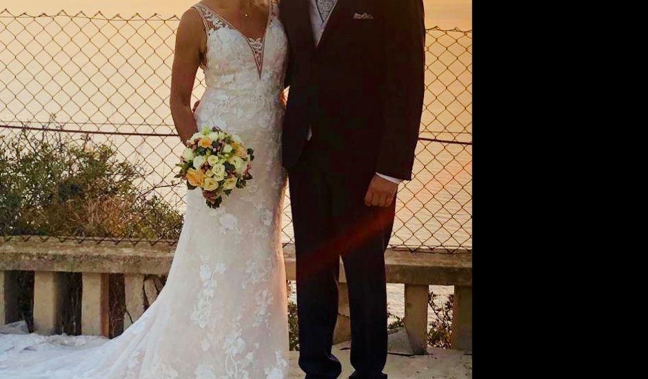La boda de Ángel y Maribel en Bahia Grande, Islas Baleares