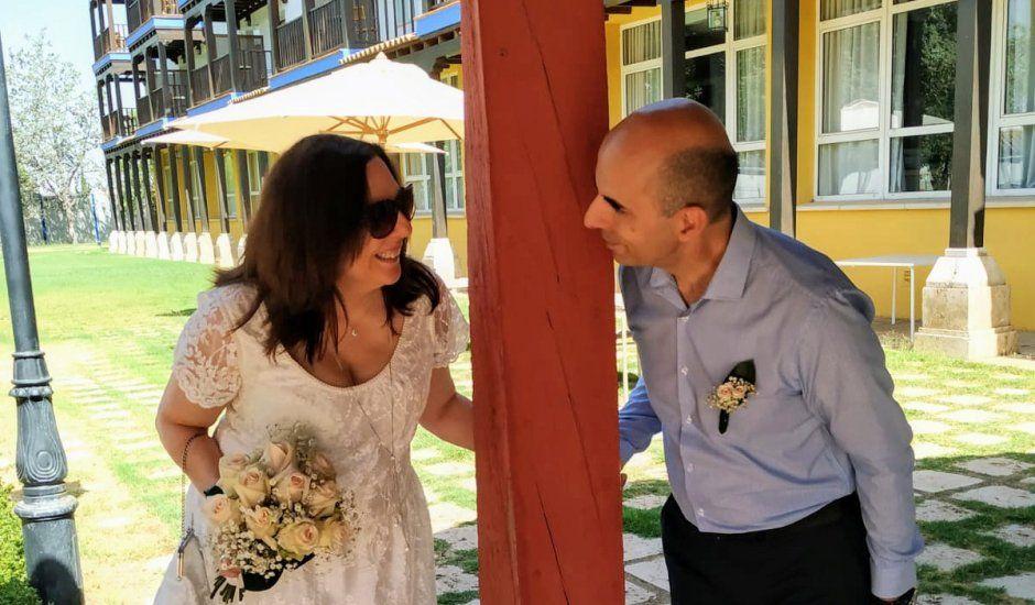 La boda de Alberto y Antonia en Manzanares, Ciudad Real