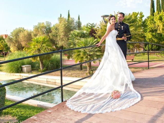 La boda de Juan Francisco y Sara en Illescas, Toledo 1