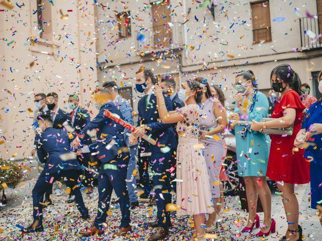 La boda de Elena y Juan Carlos en Artana, Castellón 98