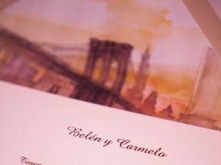 La boda de Belén y Carmelo 1