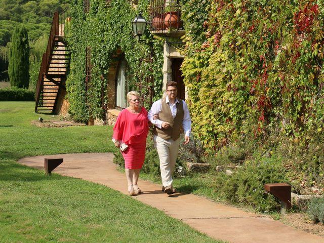 La boda de David y Anna en Pals, Girona 9