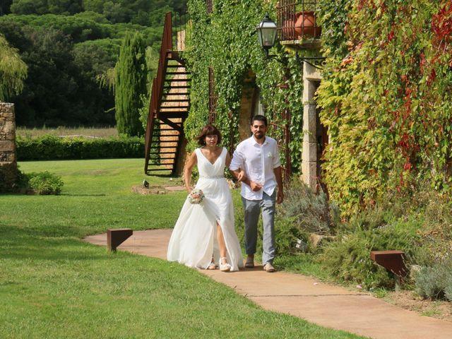 La boda de David y Anna en Pals, Girona 11