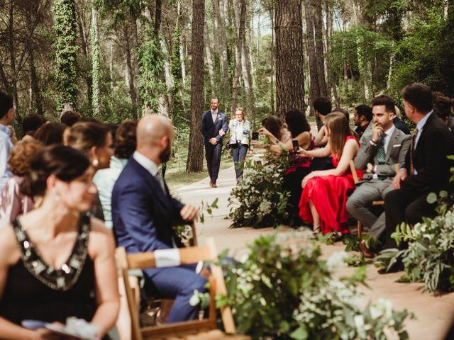 La boda de Xavi y Chiara en Castelladral, Barcelona 31