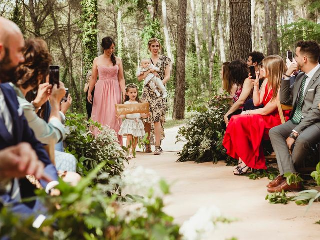 La boda de Xavi y Chiara en Castelladral, Barcelona 34
