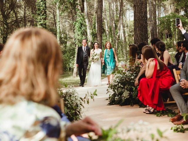 La boda de Xavi y Chiara en Castelladral, Barcelona 36