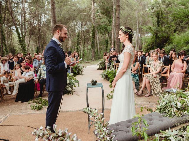 La boda de Xavi y Chiara en Castelladral, Barcelona 46