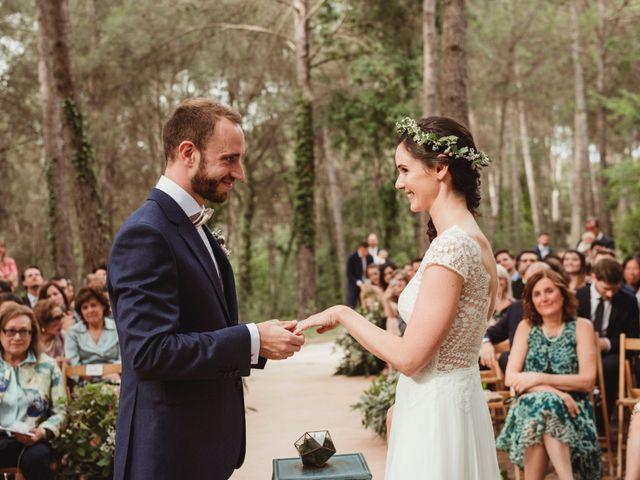 La boda de Xavi y Chiara en Castelladral, Barcelona 48