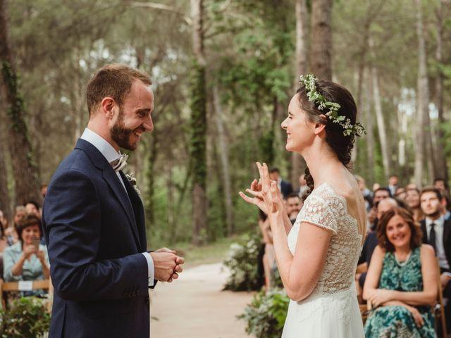 La boda de Xavi y Chiara en Castelladral, Barcelona 49