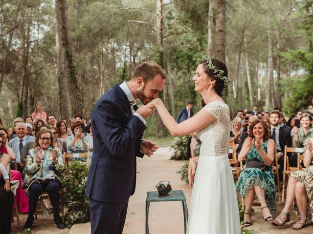 La boda de Xavi y Chiara en Castelladral, Barcelona 50