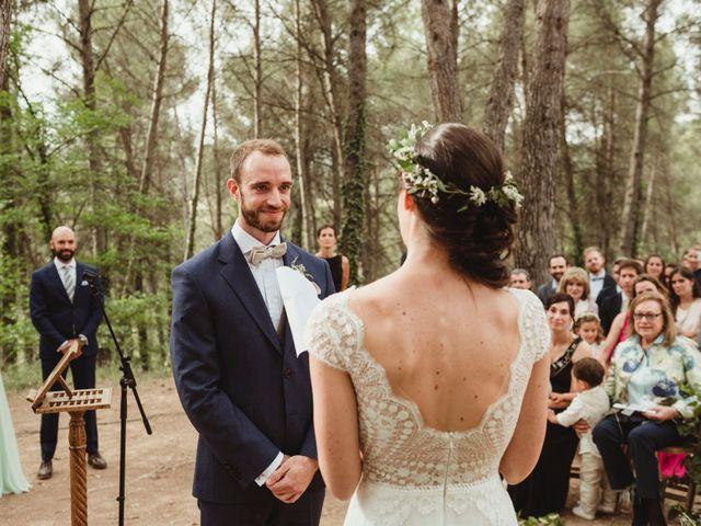 La boda de Xavi y Chiara en Castelladral, Barcelona 53
