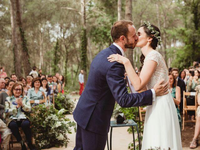 La boda de Xavi y Chiara en Castelladral, Barcelona 54