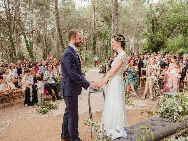 La boda de Xavi y Chiara en Castelladral, Barcelona 55
