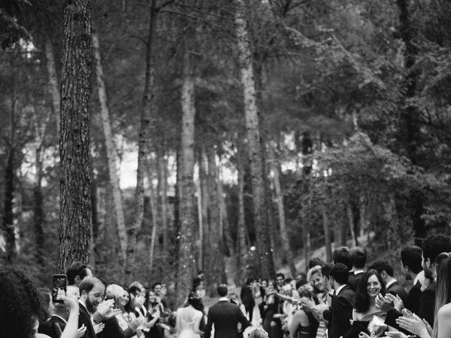 La boda de Xavi y Chiara en Castelladral, Barcelona 57