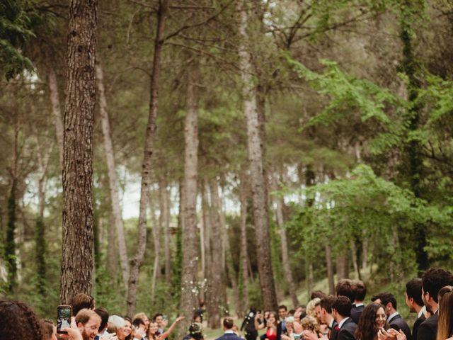 La boda de Xavi y Chiara en Castelladral, Barcelona 58