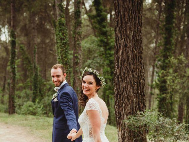 La boda de Xavi y Chiara en Castelladral, Barcelona 62