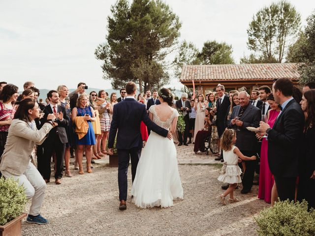 La boda de Xavi y Chiara en Castelladral, Barcelona 76