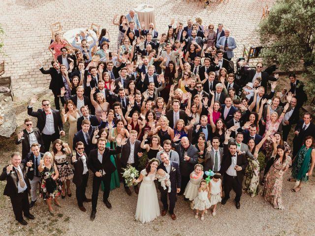 La boda de Xavi y Chiara en Castelladral, Barcelona 78