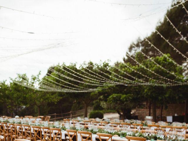 La boda de Xavi y Chiara en Castelladral, Barcelona 80