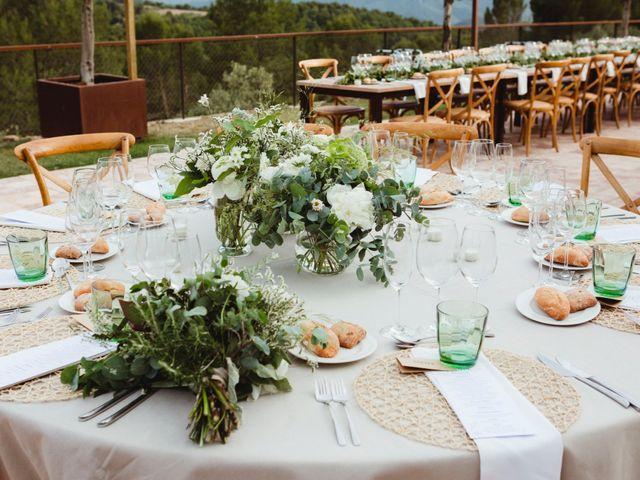 La boda de Xavi y Chiara en Castelladral, Barcelona 81