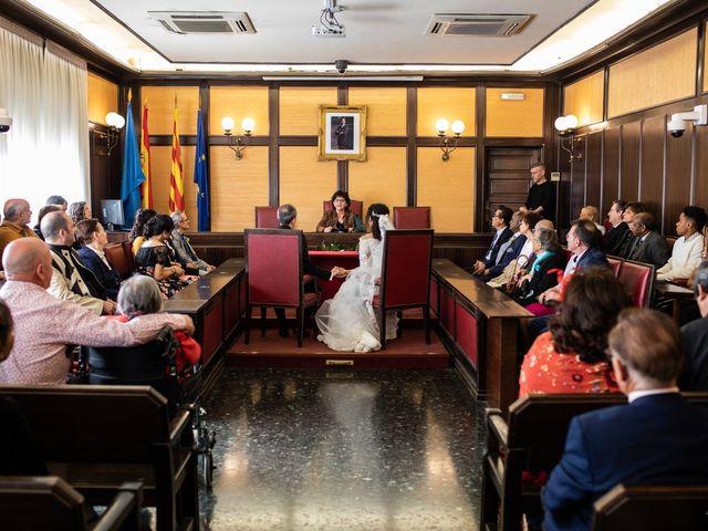 La boda de Antonio y Sara en Sant Fost De Campsentelles, Barcelona 20