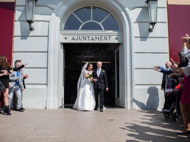 La boda de Antonio y Sara en Sant Fost De Campsentelles, Barcelona 25