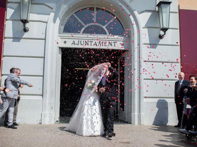 La boda de Antonio y Sara en Sant Fost De Campsentelles, Barcelona 26