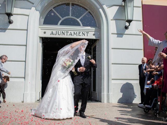 La boda de Antonio y Sara en Sant Fost De Campsentelles, Barcelona 27