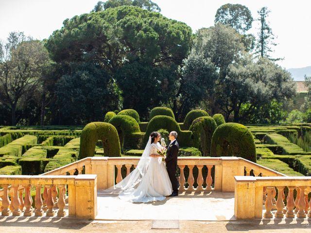 La boda de Antonio y Sara en Sant Fost De Campsentelles, Barcelona 35