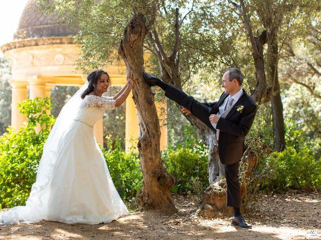 La boda de Antonio y Sara en Sant Fost De Campsentelles, Barcelona 37