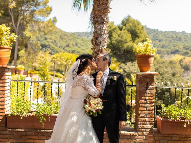 La boda de Antonio y Sara en Sant Fost De Campsentelles, Barcelona 46