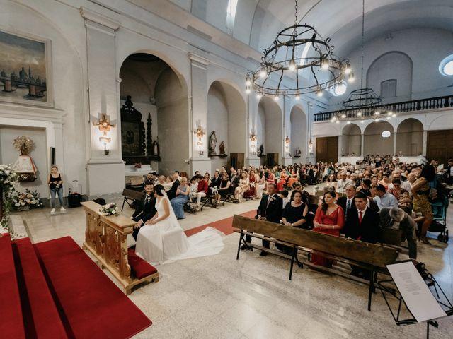 La boda de Christian y Lidia en Benabarre, Huesca 46
