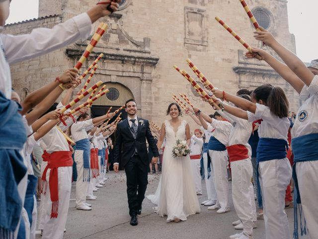 La boda de Christian y Lidia en Benabarre, Huesca 53